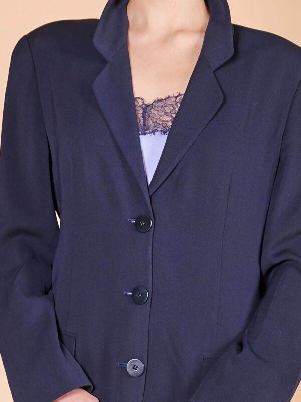 90'lar Mani marka vintage müslin ceket