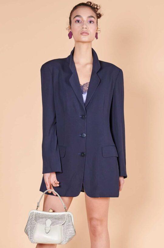 90lar Mani marka vintage müslin ceket