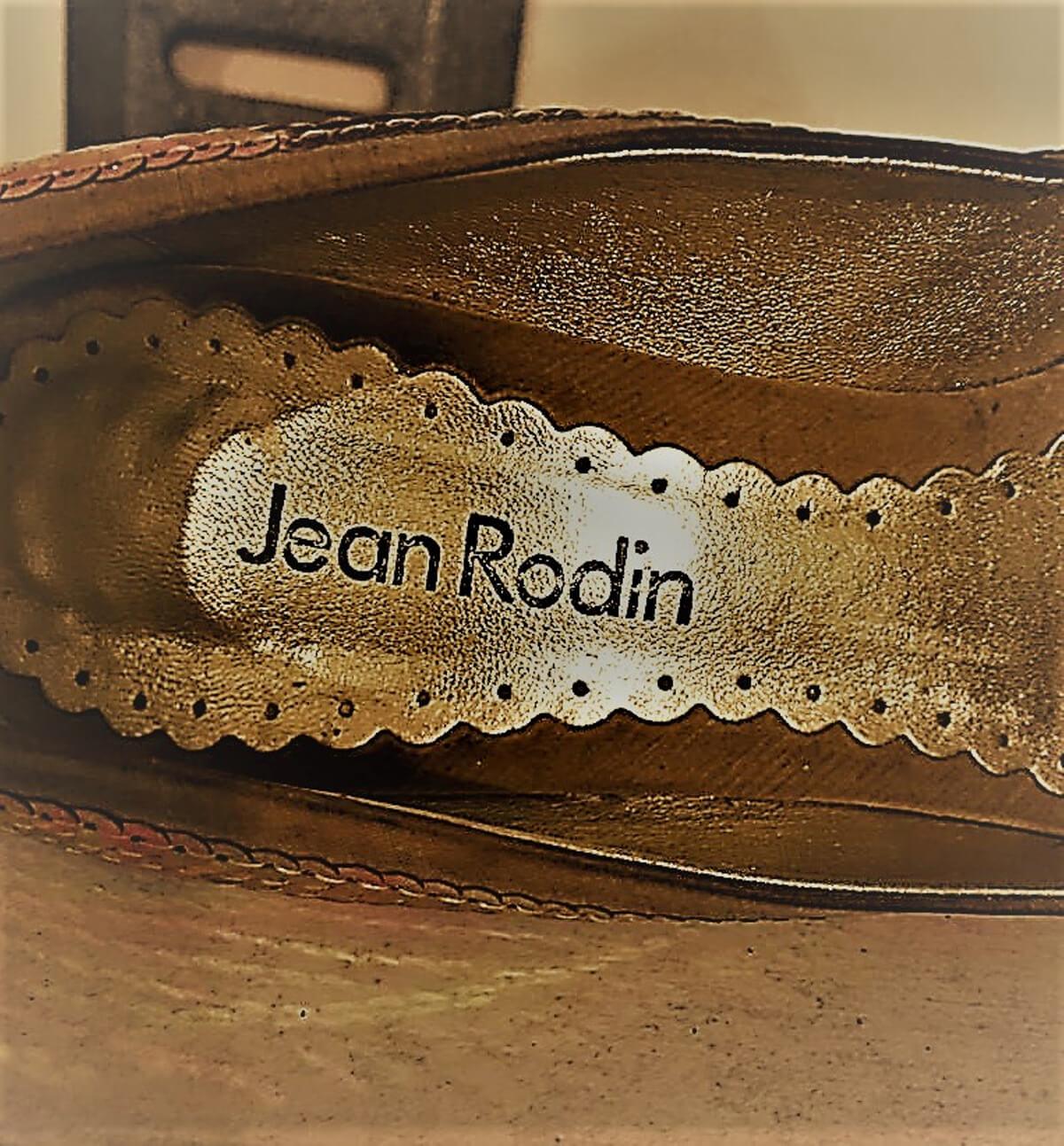 Jean Rodin 2000'ler dore ayakkabı