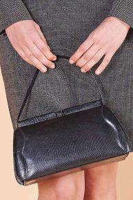 40lar el çantası, glase deri vintage çantası