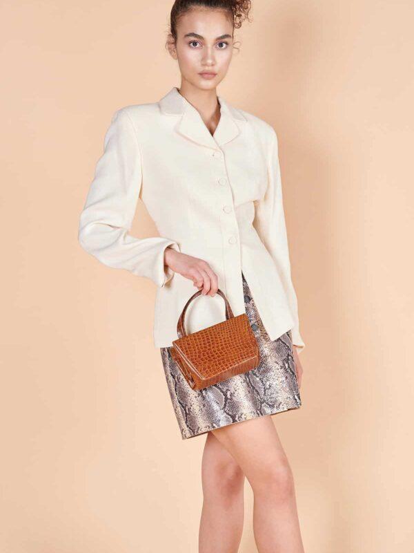 90lar Emporio Armani beyaz blazer ceket