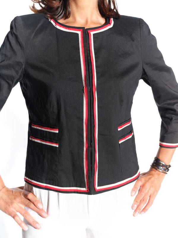 2000ler DKNY lacivert kısa ceket