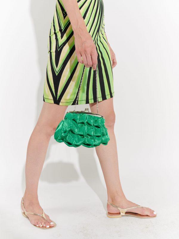 Yeşil 2000ler çantası