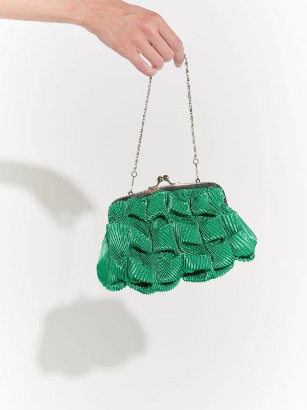 Yeşil 2000'ler çantası