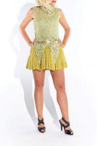 Dantel mini elbise, 2000'ler organze piliseli