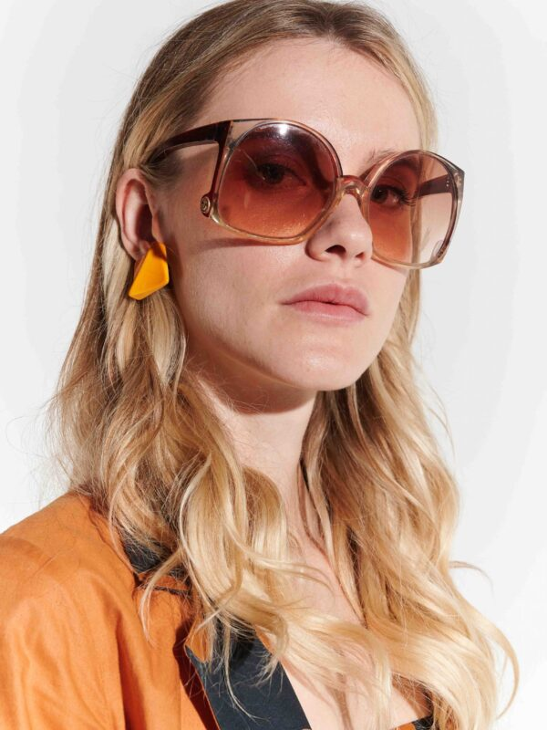 70ler eşine az rastlanır büyük vintage gözlük