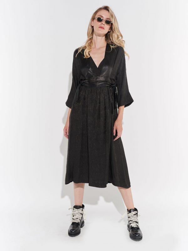 Derishow 90'lar Siyah Elbisesi