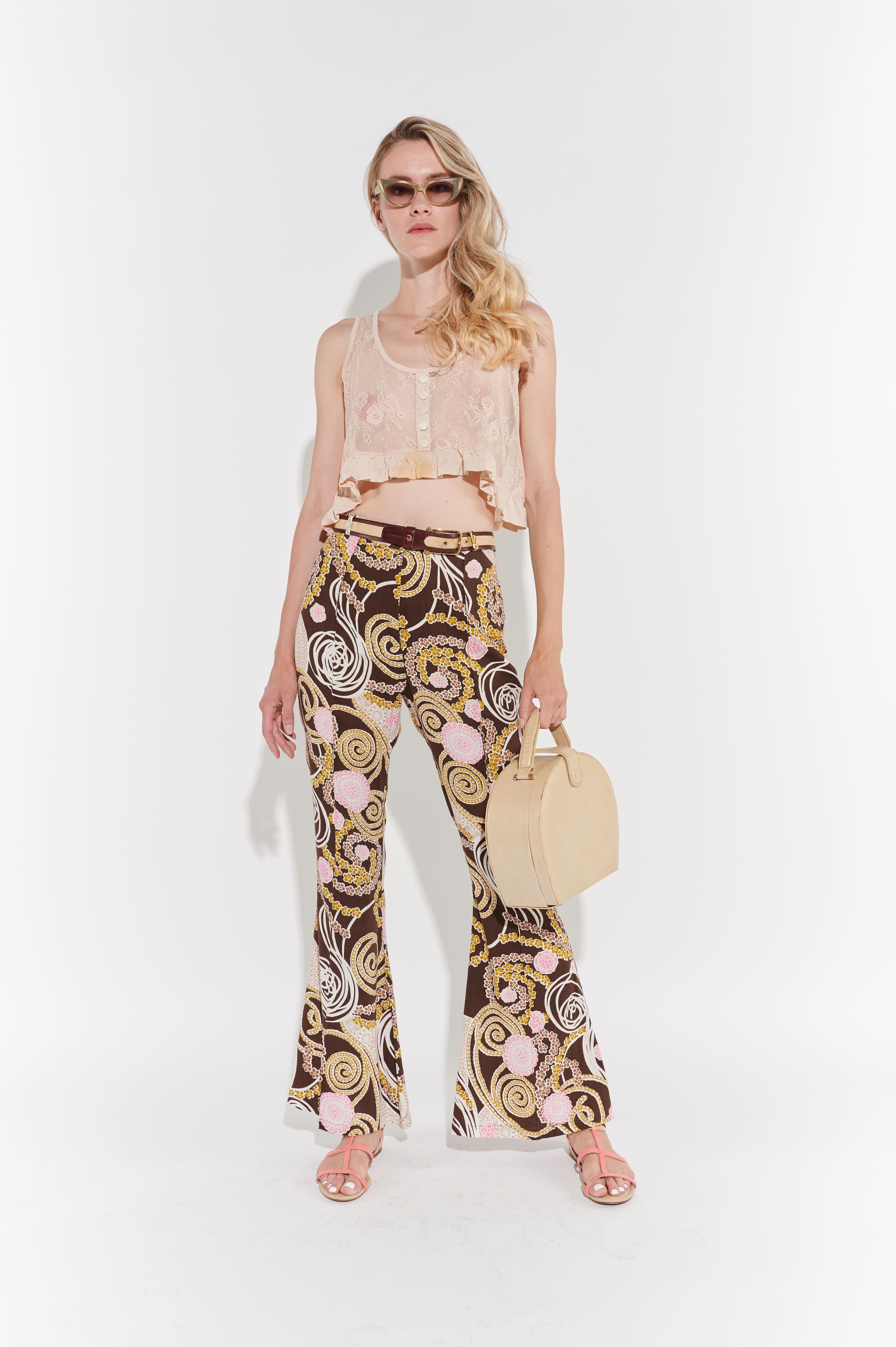 Hippie 70'ler pantolonu