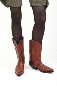 Kahve Kovboy Çizmesi