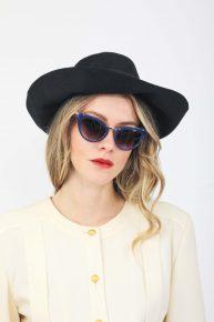 70ler Lacivert Şapka
